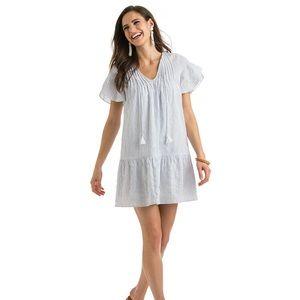 Vineyard Vines Pintucked stripe dress